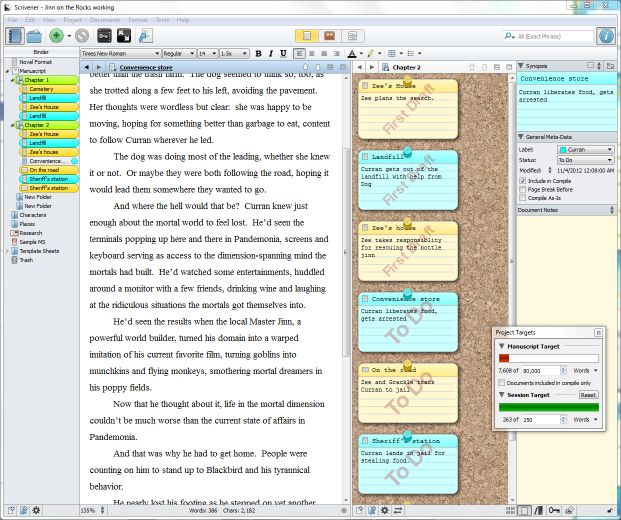 Writing a Novel with Scrivener, 3 edition