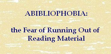 Abibliophobia