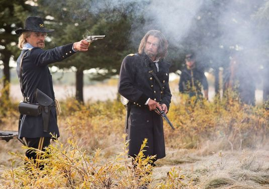 Custer and Bohannon (from AMC.com)