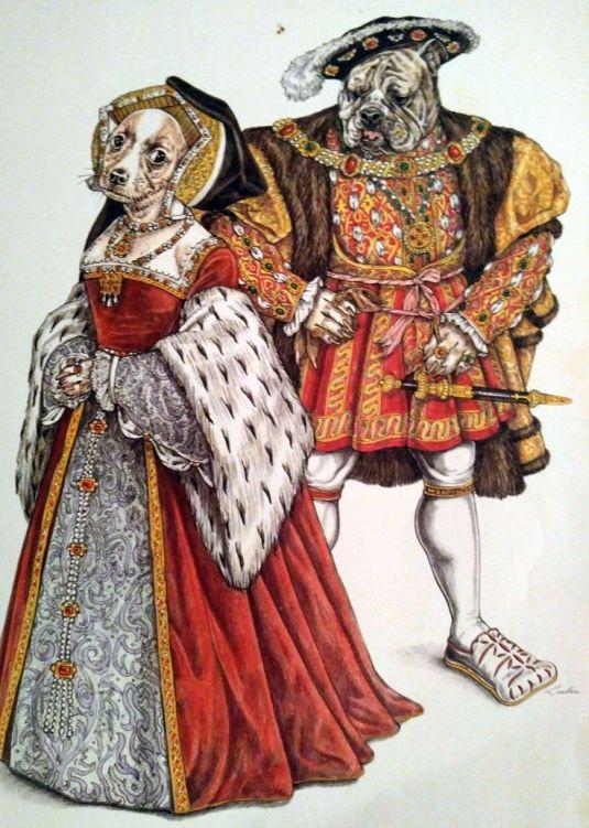 Elegant Beast Tudor